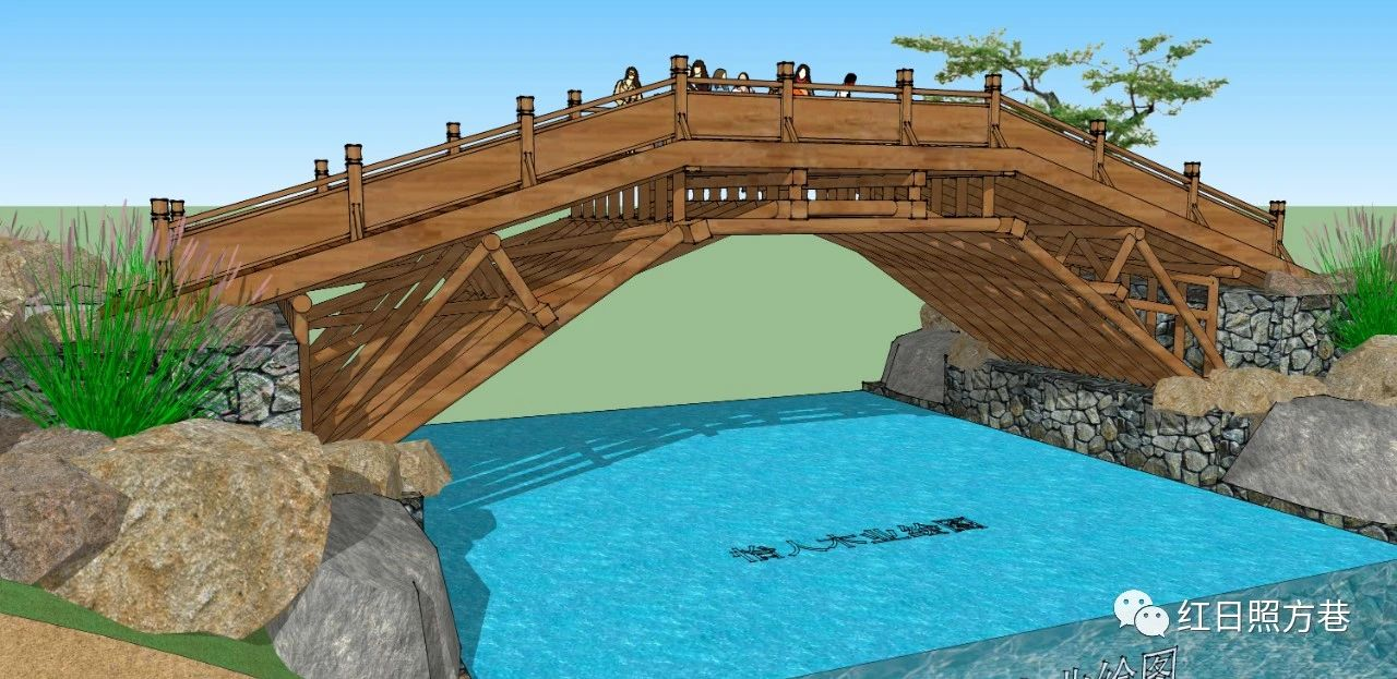 木桥、木拱桥、贯木拱桥、编梁木拱桥