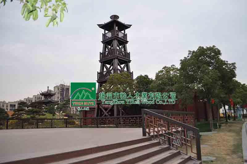 木塔、瞭望台